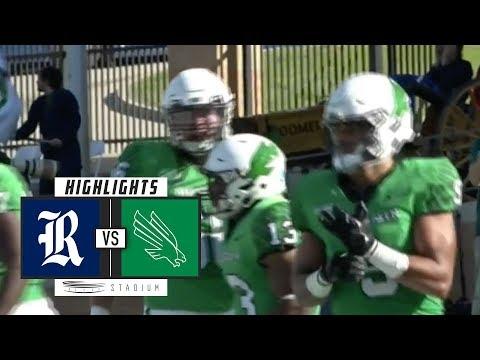 Rice vs. North Texas Football Highlights (2018) | Stadium