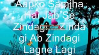 ♥♥Aapko Samjha Hai Jab Se Zindagi♥♥.wmv.mp4