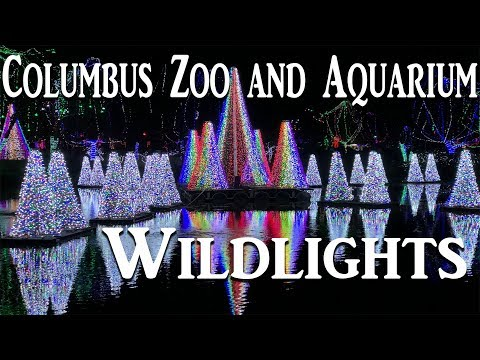 Columbus Zoo Wildlights 2017