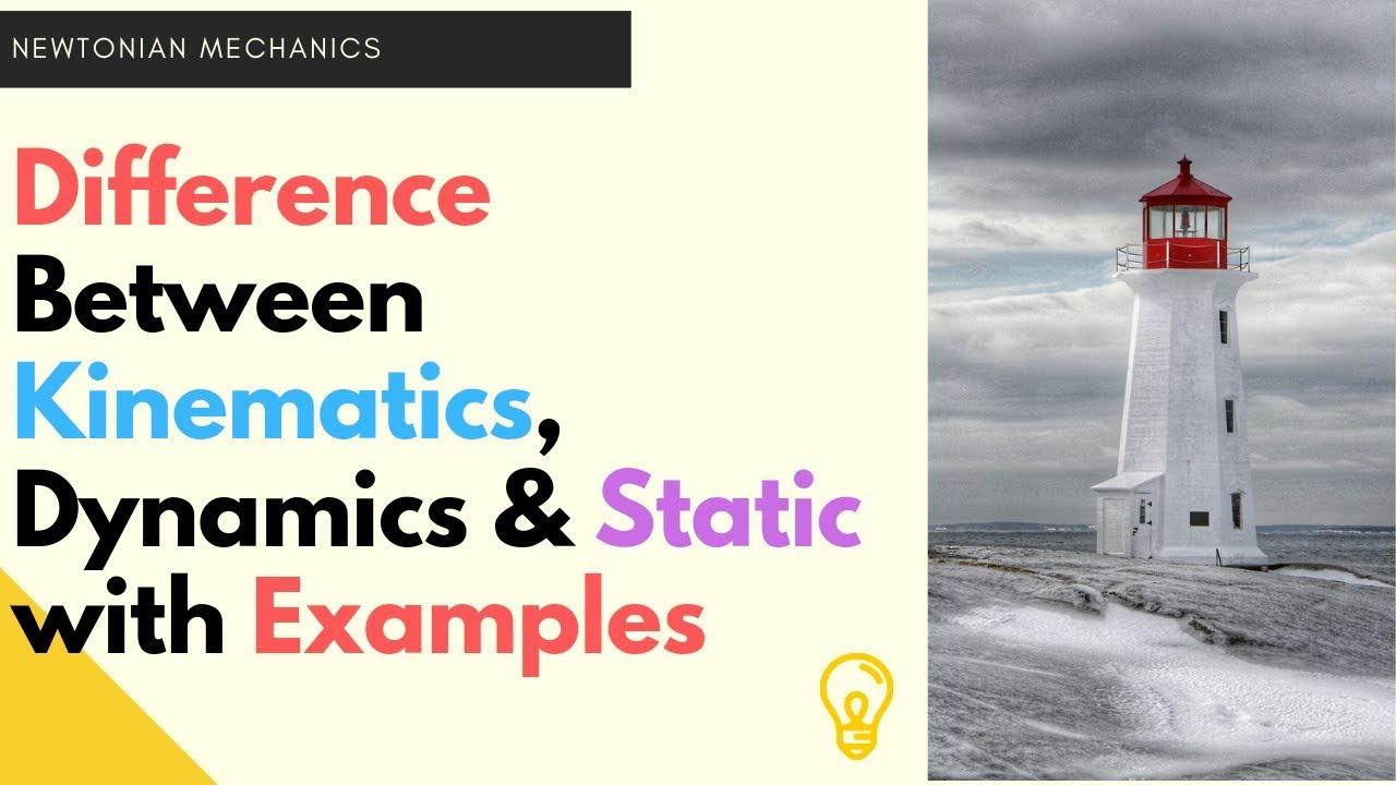 Kinematics, Dynamics and Static (Hindi)