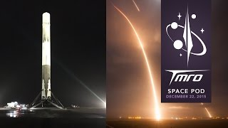 SPACEX MAKES HISTORY!!! - Space Pod 12/22/15