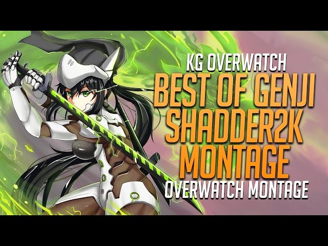 ???? Best of Genji #2 - Best of shadder2k Highlight Montage Ranked Match