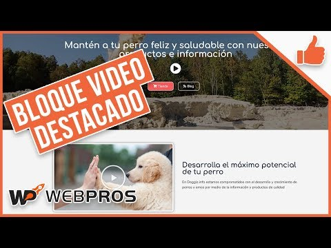 Tutorial Elementor: Bloque de Video Destacado thumbnail