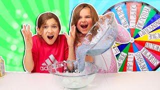 Mystery Wheel of DUMP IT Slime Challenge!! | JKrew