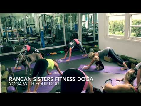 RANCAN SISTERS FITNESS DOGA - Yoga with your Dog