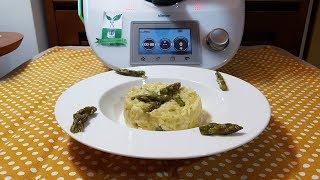 Ricette Risotto Asparagi Bimby.Risotto Agli Asparagi Per Bimby Tm6 Tm5 Tm31 Youtube