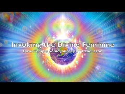 Invoking the Divine Feminine (DownTemple Music Set) - Itzadragon at Magikana Festival UK