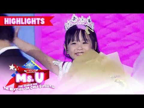 Trisha Andrada Is The Mini Miss U Of The Week! | It's Showtime Mini Miss U