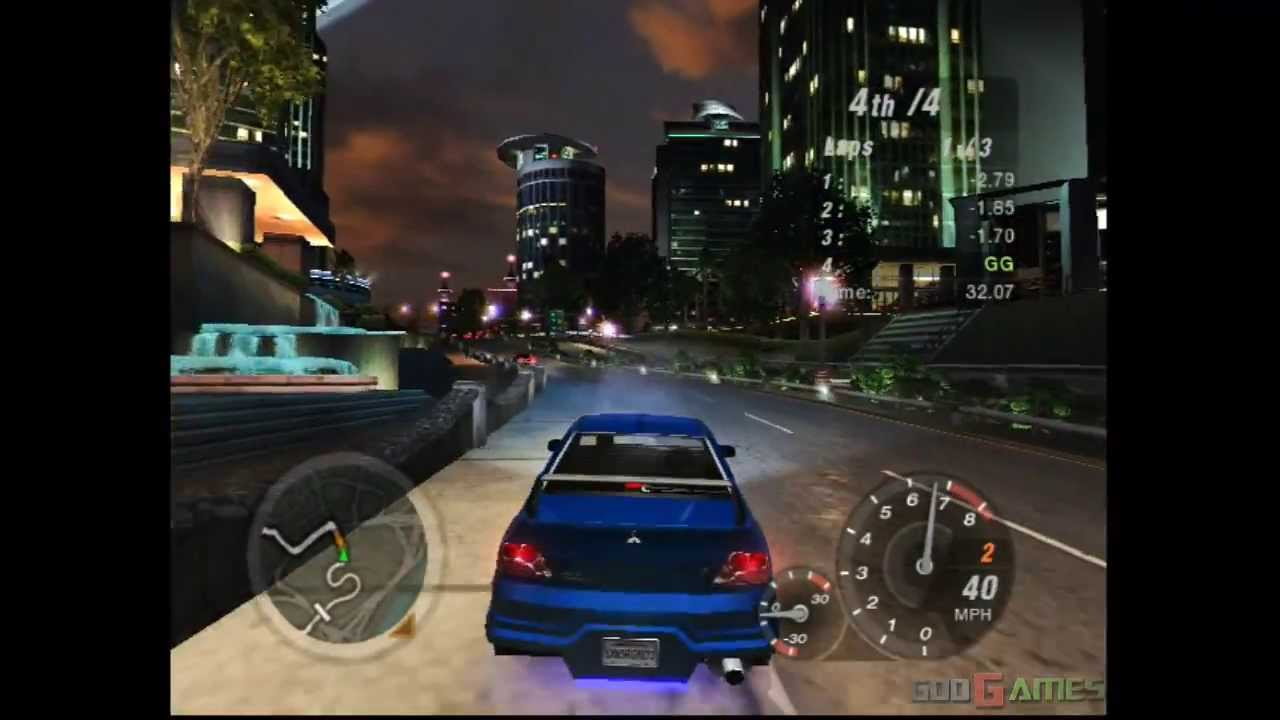 Need For Speed Underground 2 Gameplay Xbox Xbox Classic Youtube