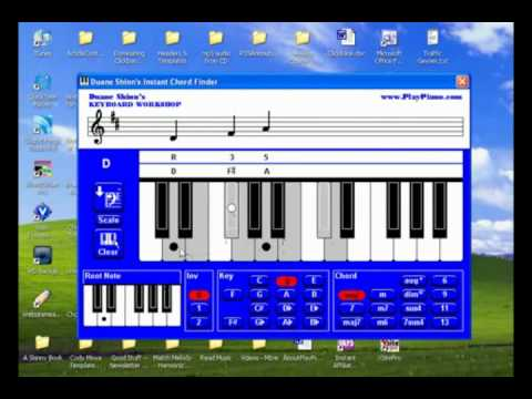 Piano Chords - Instant Chord Finder Software!
