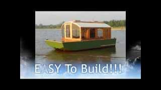 Cheap Houseboat you can build, DIANNE'S ROSE