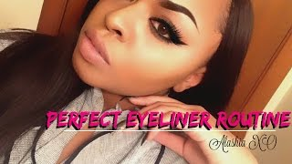 Perfect Eyeliner Routine | Alashia XO
