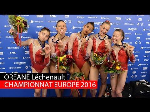 Championnat d'Europe 2016 : Oréane et l'équipe de France en bronze !