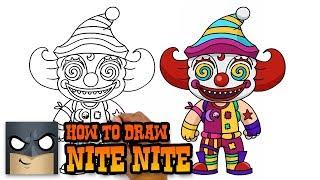 How to Draw Nite Nite | Fortnite | Awesome Step-by-Step Tutorial
