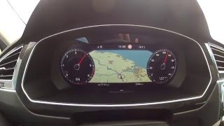 2016 VW Tiguan 2.0 TDI DSG 4Motion (150 PS) - Acceleration 0-190