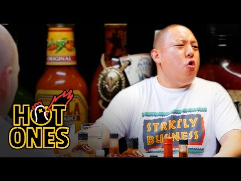 Eddie Huang Gets Destroyed by Spicy Wings | Hot Ones