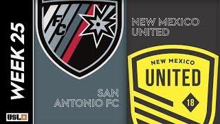 San Antonio FC Vs. New Mexico United August 24th 2019