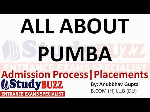 All About PUMBA | Admissions- Placements- Cut Offs- Exams Accepted
