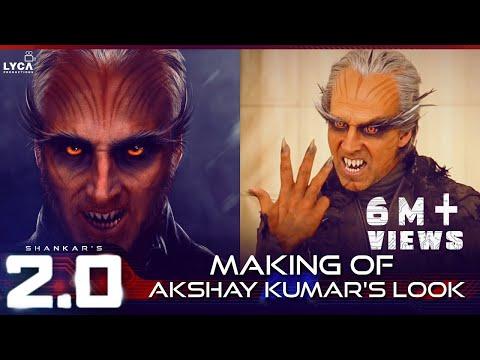 2.0 | Making of Akshay Kumar's Look | Rajinikanth | A R Rahman | Shankar | Lyca Productions