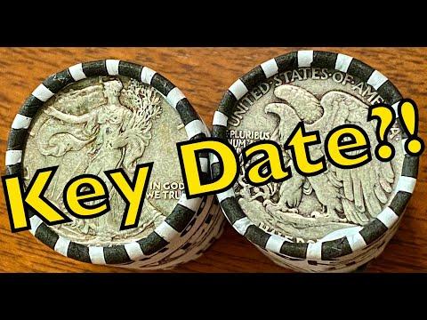 Is That A Key Date?! Walking Liberty Half Dollars!