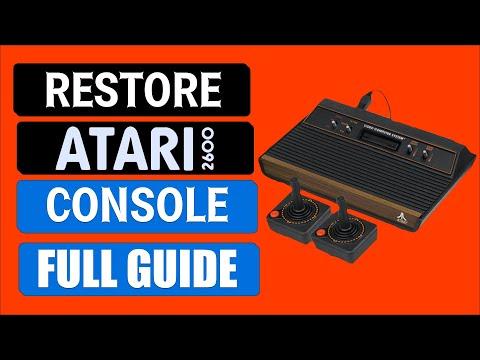 How To Fix An Atari 2600   Atari 2600 Teardown And Recap