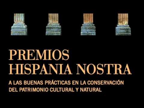 Entrevista sobre el premio Hispania Nostra