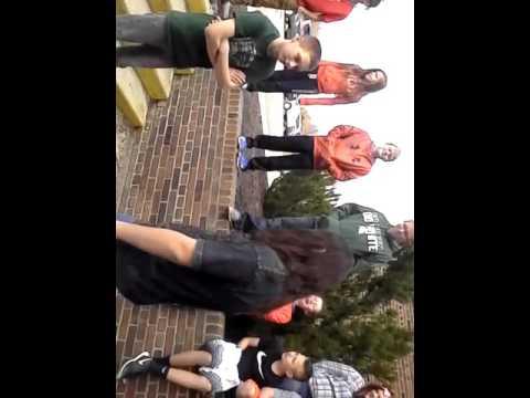 Central Montcalm middle school rap battle part one