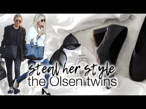 Steal her style: The Olsen twins!