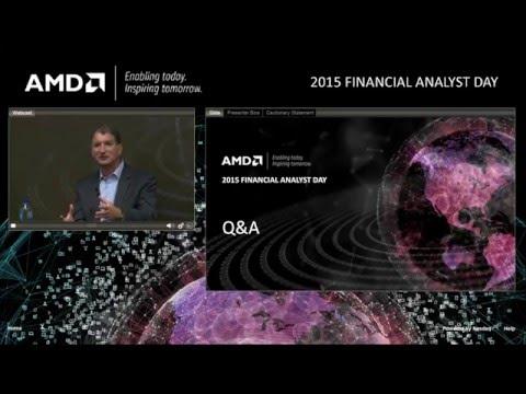 AMD 2015 FINANCIAL ANALYST DAY(часть 2)