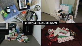30 Day Minimalism Game: Everything I Got Rid Of  |  Second Pass, Minimalist Home