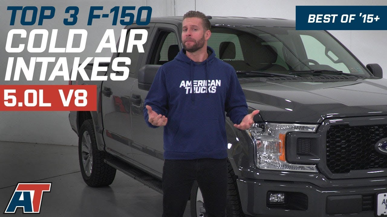 The 3 Best F150 Cold Air Intakes For 2015 2018 Ford F150 5 0l V8 Youtube