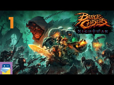 Battle Chasers: Nightwar - iOS / Android Gameplay Walkthrough Part 1 (by HandyGames)
