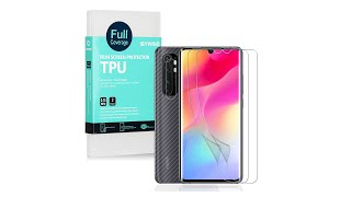 Xiaomi Mi Note 10 Lite Ibywind Tpu Flim Screen Protector With Camera Protector & Back Protector