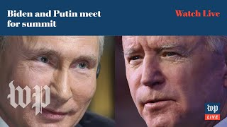 Biden and Putin hold news conferences following summit - 6/16 (FULL LIVE STREAM)