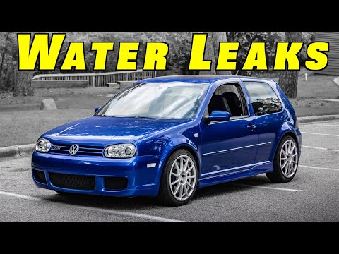 How To Find and Fix Water Leaking Inside a Car ~ Wet Carpet