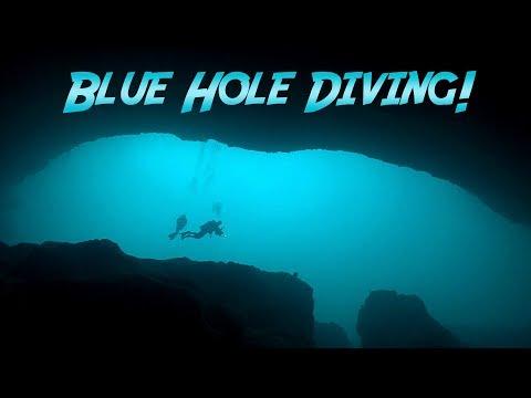 Blue Hole Diving In The Bahamas | JONATHAN BIRD'S BLUE WORLD