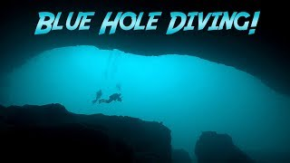 Blue Hole Diving In The Bahamas | JONATHAN BIRD