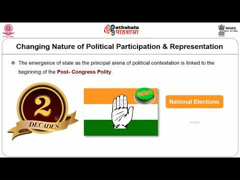 Changing Nature of Political Participation and Representation