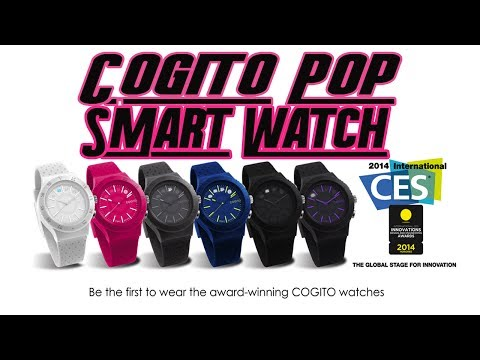 Cogito Pop SmartWatch Review April 2014: No Recharge or Tangled Cords