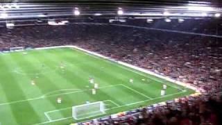 Manchester - Bayern 07.04.2010 - Die letzten Minuten und Schlusspfiff...