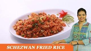 Schezwan Fried Rice - Mrs Vahchef