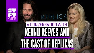 Keanu Reeves Doesn't Want His Consciousness Transferred | SYFY WIRE
