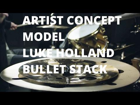 Meinl Cymbals Artist Concept Model Luke Holland Bullet Stack