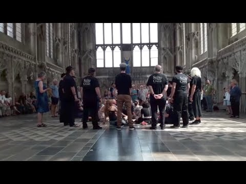 The Spooky Men's Chorale - Crossing the Bar, in the Lady Chapel, Ely Cathedral