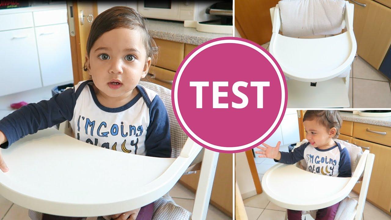 Hochstuhl Stokke Test ~ Test treppy hochstuhl babyartikel youtube
