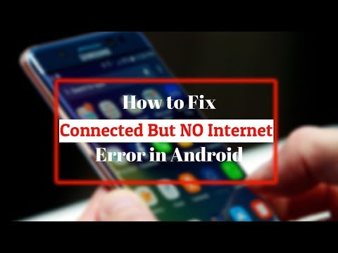 WiFi Connected But No Internet On Android - Here's The REAL Fix 2019