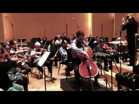 Drew Cone Performs With The Buffalo Philharmonic Orchestra