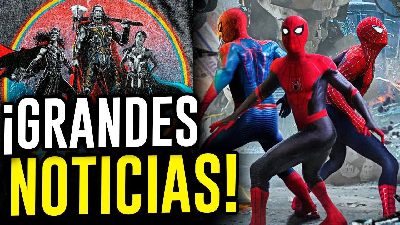 ¡SPIDER-MAN OFICIAL! Thor: Love And Thunder primeras imágenes de JANE FOSTER, KRAVEN vs CAMALEÓN