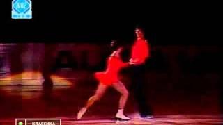 Legends of Soviet figure skating: Olga Volozhinskaya and Aleksandr Svinin