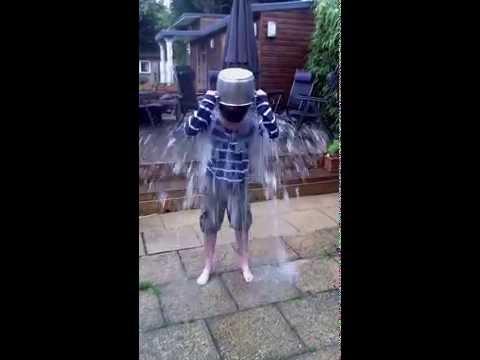 Oaklee Pendergast Ice Bucket Challenge